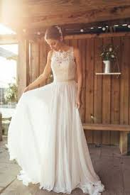 Spring Boho Wedding Dress