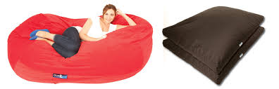 Bean Bag Sofa And Bed Combined