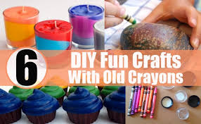 6 Awesome DIY Fun Crafts To Do With Broken Or Old Crayons