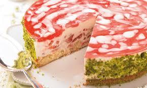 rhabarber erdbeer torte