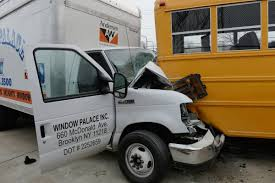 100 Truck Driving Schools In Nj Box Truck Driver Faints At Wheel Plows Into Parked School Bus In