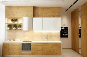 wood and how to use it to decorate the kitchen home dezign