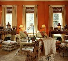 Coral Color Interior Design by 20 Great Shades Of Orange Wall Paint And Coral Apricot