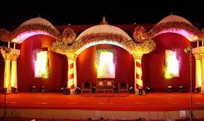 DecorationsWedding Stage Decoration With Flower And Lighting Decor For Wedding Design Ideas