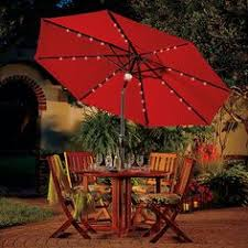 Solar Lighted Patio Umbrella by Patio Umbrellas Outdoor Umbrellas Patio Umbrella Frontgate