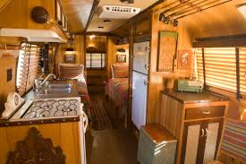 Camper Interior Decorating Ideas by Vintage Airstream Trailers Interior The Adirondack Airstream By