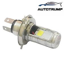 autotrump led white light side hid bike headlight bulb