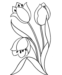 Awesome Flowers Coloring Pages Flower Rose Printable