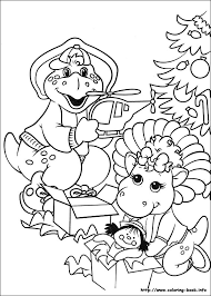 Barney And Friends Coloring Pages 21