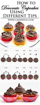Learn How To DECORATE BEAUTIFUL CUPCAKES Using Various Wilton Decorating Tips Just Follow Along This