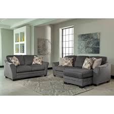 Ashley Levon Charcoal Sofa Sleeper by Living Room Ashley Furniture Levon Charcoal Queen Sofa Sleeper