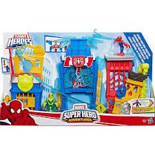 100 Playskool Plastic Table And Chairs Marvel Heroes Marvel Super Hero Adventures Spiderman Web