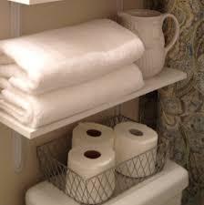 Bathroom Wall Shelves With Towel Bar by Bathroom Glass Bathroom Shelves With Stainless Steel Towel Bar