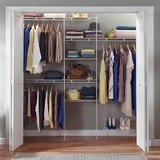Closetmaid Closet Organizer Kit With Shoe Shelf, 5' To 8' - Walmart.com
