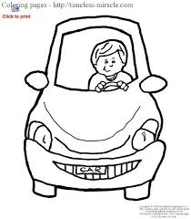 Coloring Pages Pinewood Derby Cars Car Page