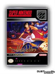 Aladdin SNES Super Nintendo Game Case Box Cover Brand New ...