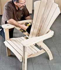 garden chair plans outdoor furniture plans and projects