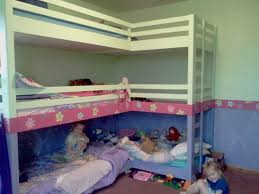 peaceful home girls double triple bunk beds