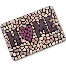 cobblestone caoutchouc tapis porte d entrée tapis bienvenue à la