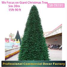 20ft 30ft 40ft 50ft Giant Outdoor Lighting Christmas Tree Suppliers And Manufacturers At Alibaba