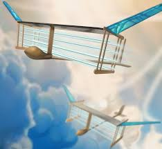 100 Parts Of A Plane Wing Ionic Windpropelled Aircraft Flies With No Moving Parts