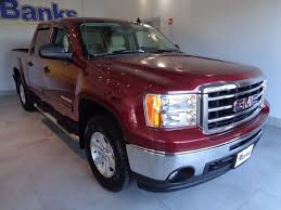 2013 Used GMC Sierra 1500 4WD Crew Cab Short Box SLE At Banks ... Gmc Pressroom United States Sierra 2500hd Denali Preowned 2013 Slt Crew Cab Pickup In Roseburg Used 1500 4d Orlando Zt287072 Crew Cab At John Bear New Hamburg 31998 Sle4wd Nampa 480424a Kendall Sle Extended Expert Auto Group 2wd Reg 1330 Work Truck White 4x4 53l V8 Engine Overview Cargurus Z71 4wd Tonneau Alloy