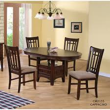 Large Picture Of 5 Pc Empire Espresso Dining Set
