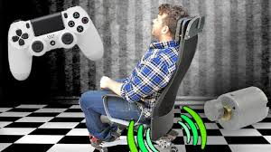 Gaming Chair Gives Full Body Feeling To Collisions | Hackaday Gt Throne Review Pcmag Best Gaming Chairs Of 2019 For All Budgets Gaming Chairs With Reviews For True Gamers Uk Top 7 Xbox One Gioteck Rc5 Pro Chair U Me And The Kids In 20 Ergonomics Comfort Durability Silla De Juegos Ultimate Bluetooth Gamer Ps4 Video X Rocker Fabric Audio Brazen Spirit 21 Pedestal Surround Sound Dual21dl Rocker Chair User Manual Ace Bayou Corp Models Period Picks