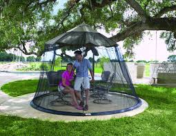 Mosquito Netting For 11 Patio Umbrella by Mosquito Netting For Patio Umbrella Black Home Outdoor Decoration