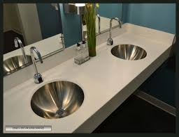 Drop In Sink Vanity Top by How To Choose A Sink For Solid Surface Countertops Solidsurface