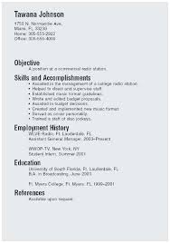 Sample Resume For College Student Looking Summer Job Outstanding Recent Graduate Example Intern