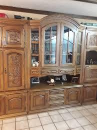 belgischer wohnzimmerschrank eiche rustikal in 66822 lebach