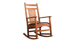 Stickley Rocking Chair Plans by Stickley Harvey Ellis Rocker With Inlay By