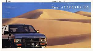 1991 Nissan Trucks Genuine Accessories Brochure - NICOclub