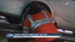 Tow Truck Drivers Stay Busy During Snow Storm - YouTube Update Stolen Tow Truck Driver Arrested After Allegedly Fleeing Milwaukeerepairs Valet Site Allied Towing Services Inc 5241 E Mcnichols Rd Htramck Mi 48212 Ford Wrecker Tow Truck Jerr Dan Roll Back Wwwtravisbarlowcom Drivers Organize Tribute For 6yearold Drowning Victim Home General Llc Roadside Assistance Milwaukee Ns Facebook Chevy Gmc Alinum Rim Set 195 X 675 8 Lug Virgofleet Texas Recovery 864 Old Palestine Fairfield Tx 75840 Stay Busy During Snow Storm Youtube