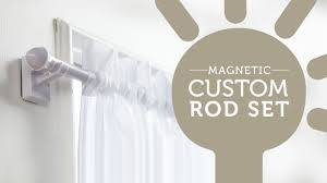 Curtain Rod Set Screws by How To Easily Hang Curtains On Metal Doors And Windows Youtube