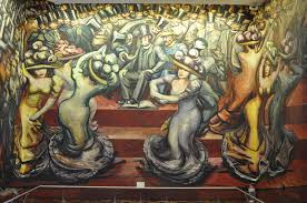David Alfaro Siqueiros Famous Murals by Chapultepec Castle U2013 Adventures In North America