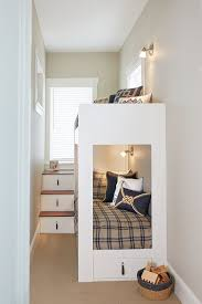 Diy Murphy Bunk Bed by Built In Bed Plans Diy Built In Storage Bed Shanty 2 Chic Best