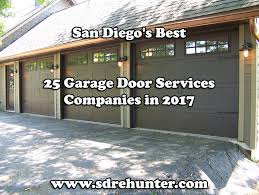 Pinery Christmas Trees Del Mar Ca by San Diego U0027s Best 25 Garage Door Services Companies In 2017