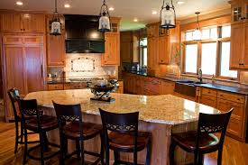 Kitchen Remodel Ideas Oak Cabinets Wood Floors Designs Brown Hardwood Set White Countertop Cabinet Storage Grey Table Chair