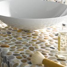 flusskiesel naturstein mosaikfliesen kos verblendsteine