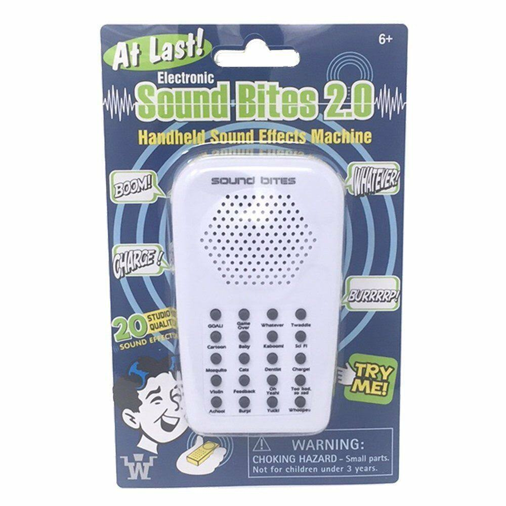 Westminster Electronic Sound Bites 2.0 Handheld Sound Effect Machine