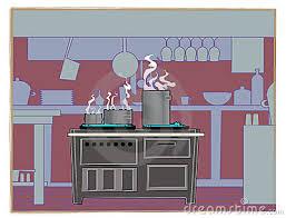 Restaurant Kitchen Clipart