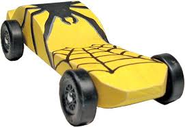 Pinewood Derby Car Coloring Pages