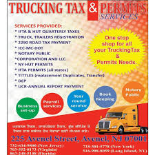 100 All State Trucking Tax And Permits Services Home Facebook
