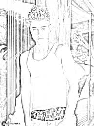Justin Bieber Coloring Pages To Print Best Of