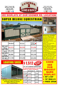 Metal Loafing Shed Kits by Your Source In Oklahoma For Barn Kits Pole Barns Horse Barns And