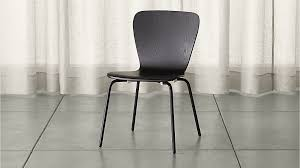 Crate And Barrel Dining Room Chairs by Felix Black Dining Chair Crate And Barrel