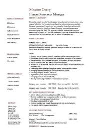 Hr Manager Resume Sample Beautiful Human Resource Lovely New Programmer