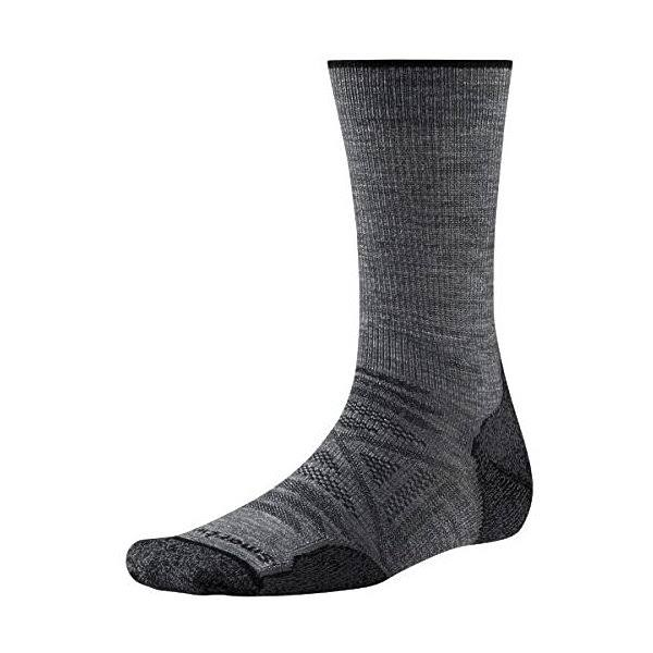 SmartWool Men's PhD Outdoor Light Crew Socks - Medium Gray, Medium